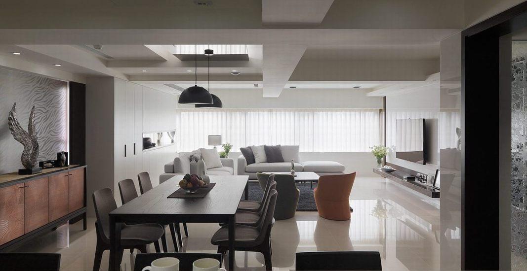 现代风格客餐厅设计图片