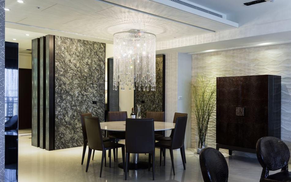 奢华风格餐厅装修案例