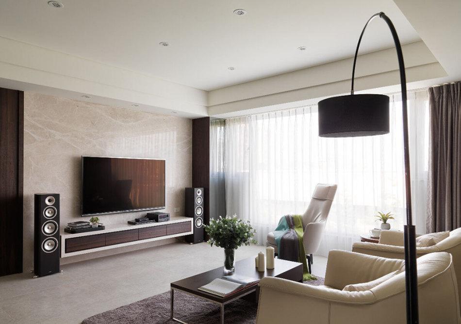 现代风格电视主墙图