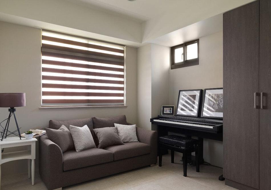 现代风格起居室图