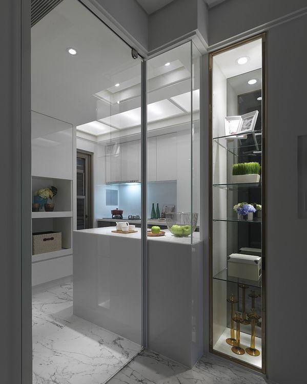 混搭风美型厨房设计效果图