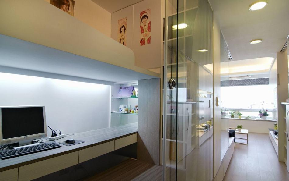 现代风格玻璃介面欣赏图