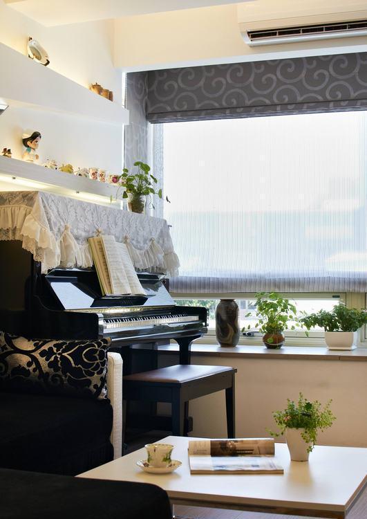 现代风格钢琴欣赏图