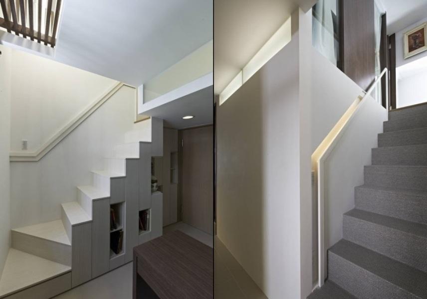 现代风格梯间设计图片