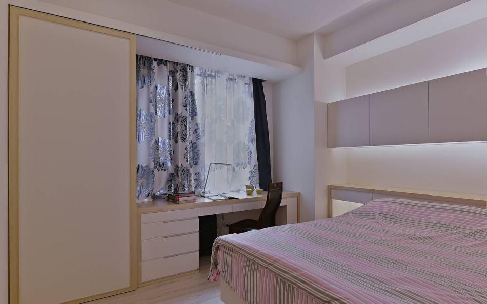 混搭风次卧室装修案例