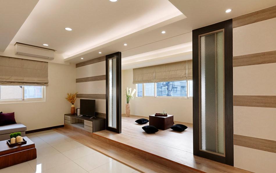 休闲多元二楼和室图片