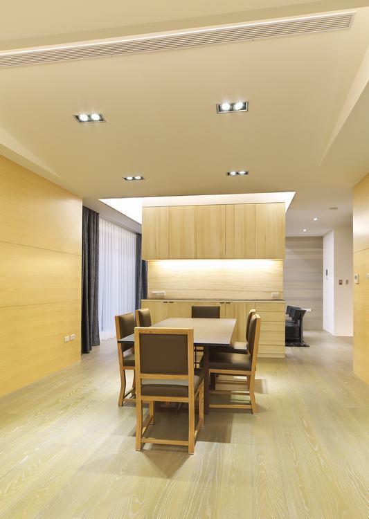现代风格餐厅空间装修案例