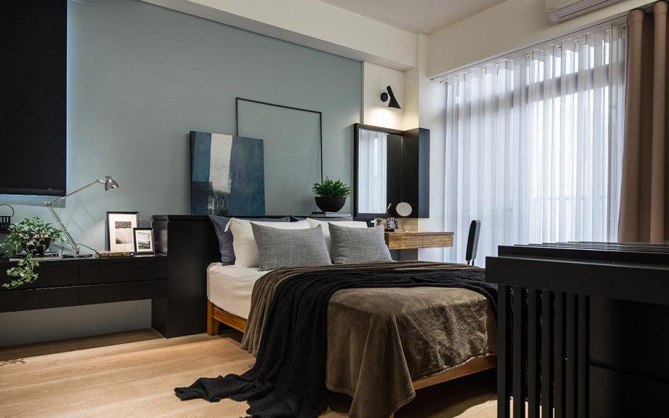 休闲多元主卧房装修图片