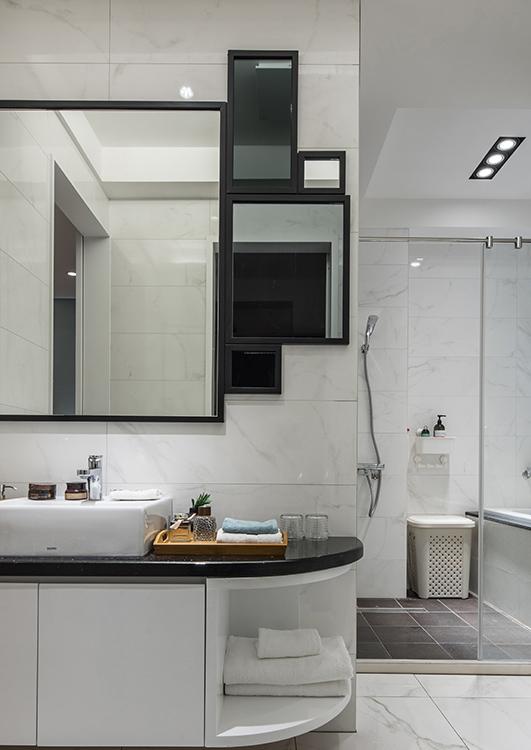 休闲多元主卧卫浴装修图片