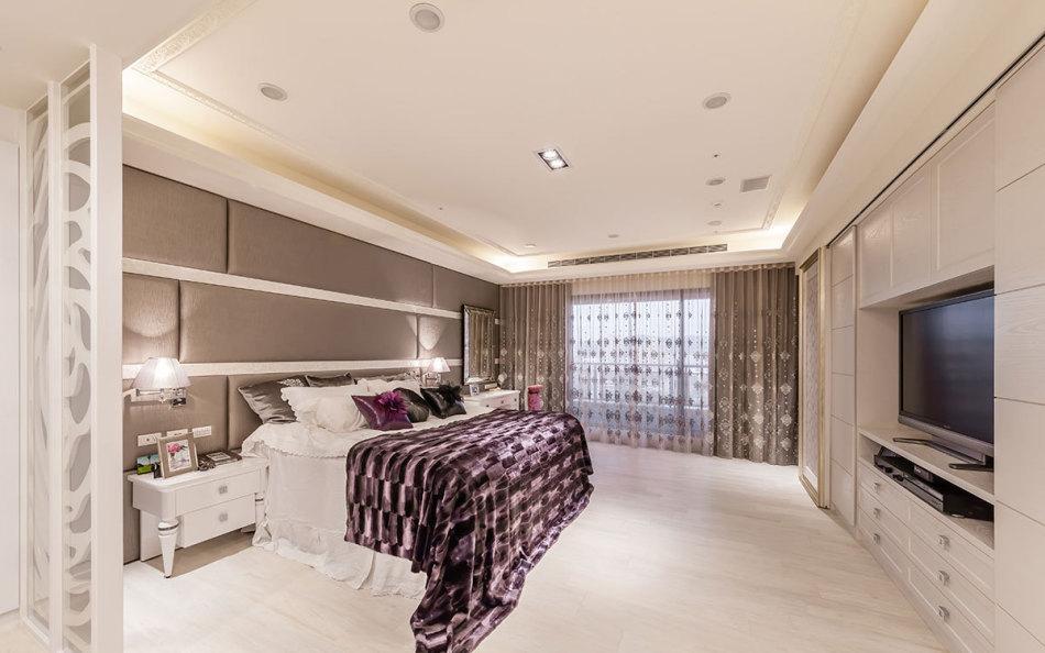 新古典主卧房设计效果图