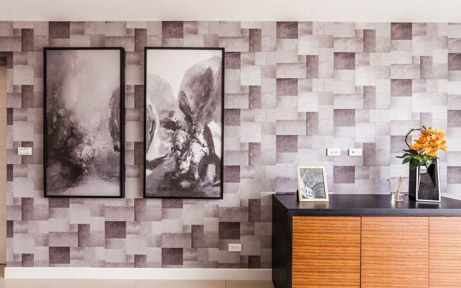 现代风格主卧墙面装修案例