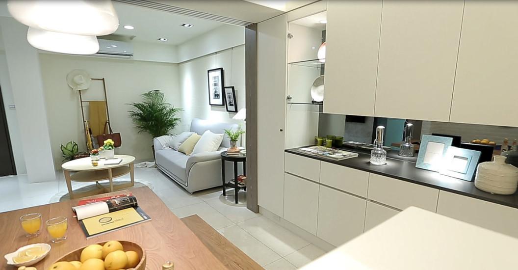 现代风格餐柜设计设计效果图