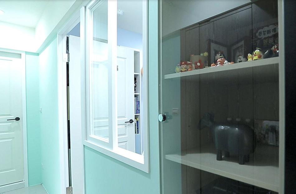 现代风格机柜设置设计效果图