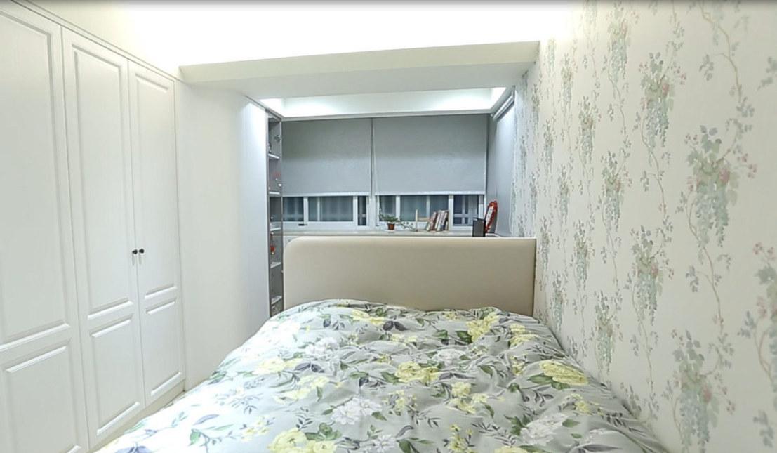现代风格主卧房设计效果图