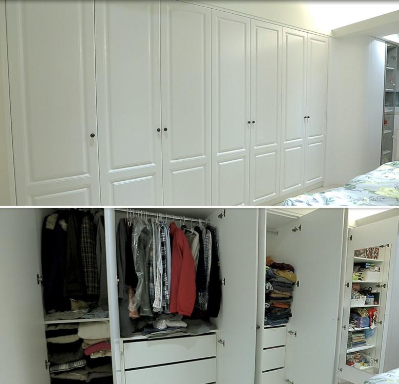 现代风格衣柜设计设计效果图