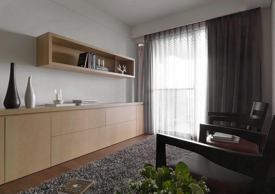 现代风格书房&客房设计图片