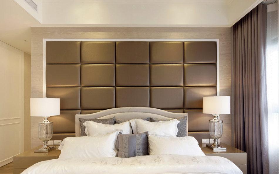 新古典主卧床头装修图片