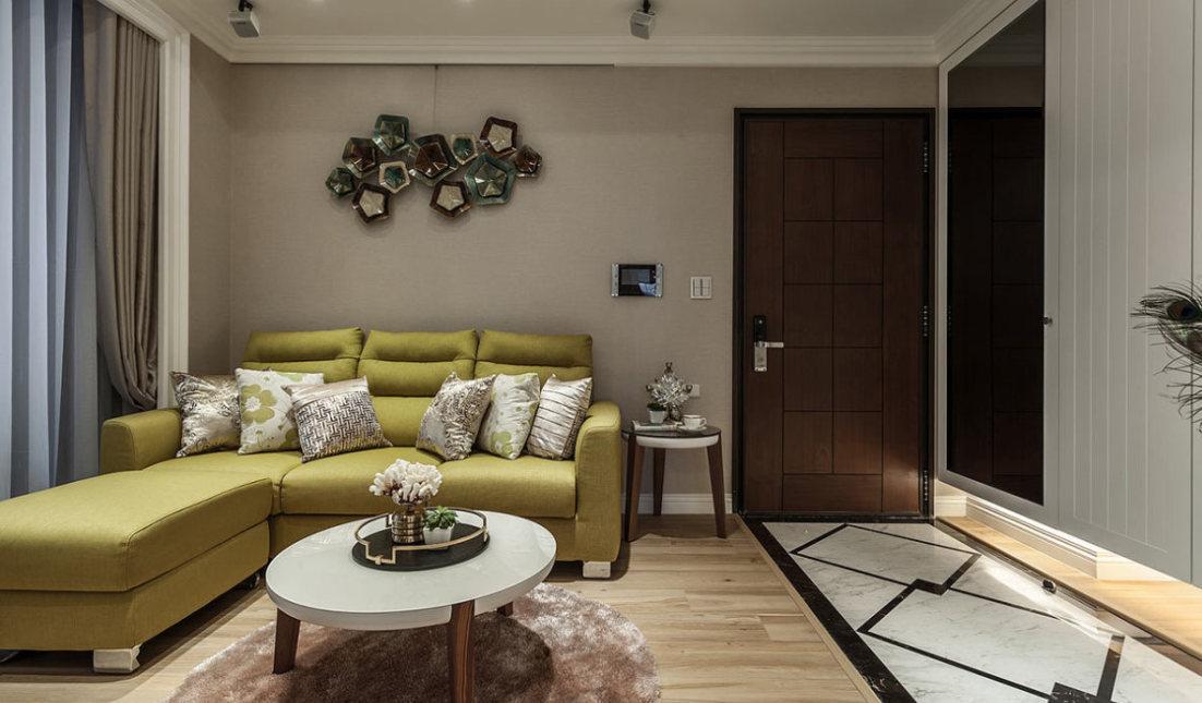 美式风格客厅装修案例