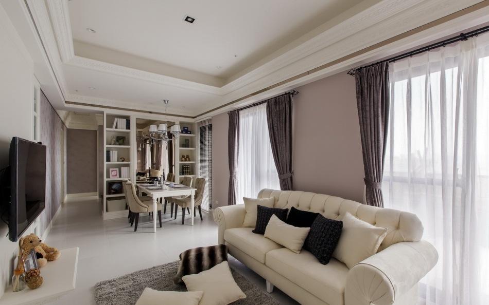 新古典客厅图