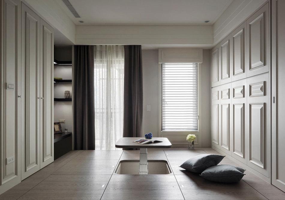 美式风格和室效果图