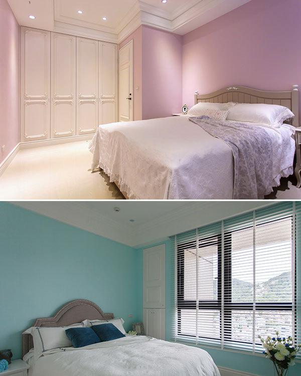 现代风格次卧装修案例