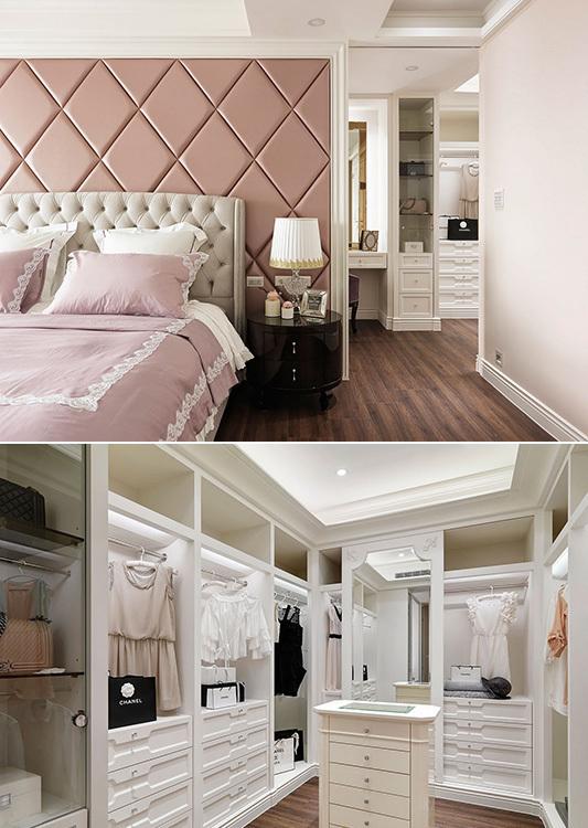 新古典主卧更衣室装修案例