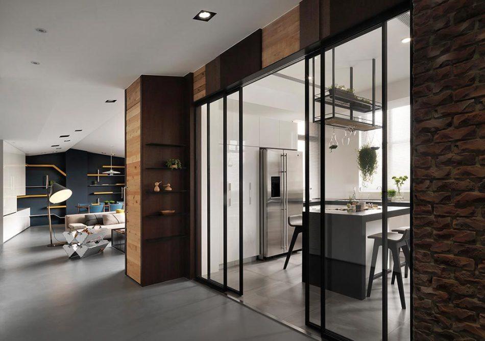 现代风格壁面设计设计图片