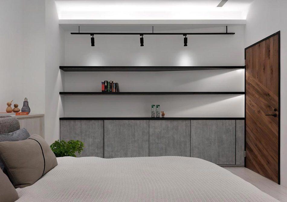 现代风格次卧设计图片