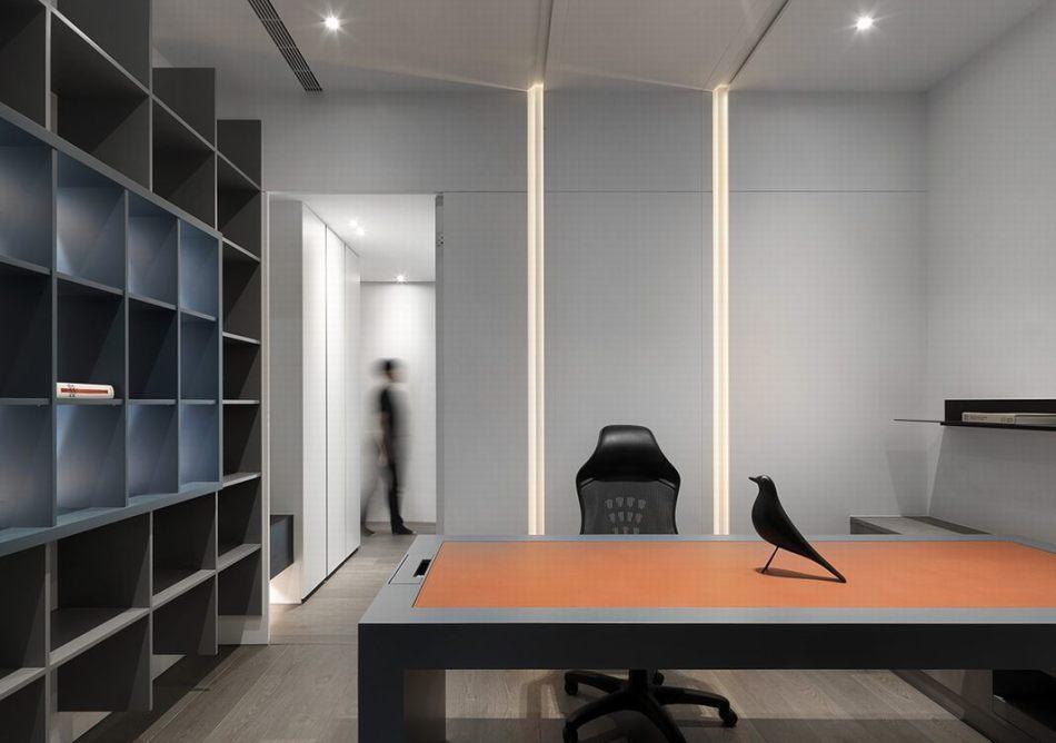 现代风格书房设计图片