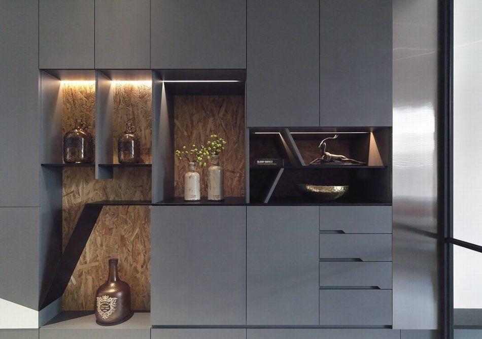 现代风格柜体设计效果图