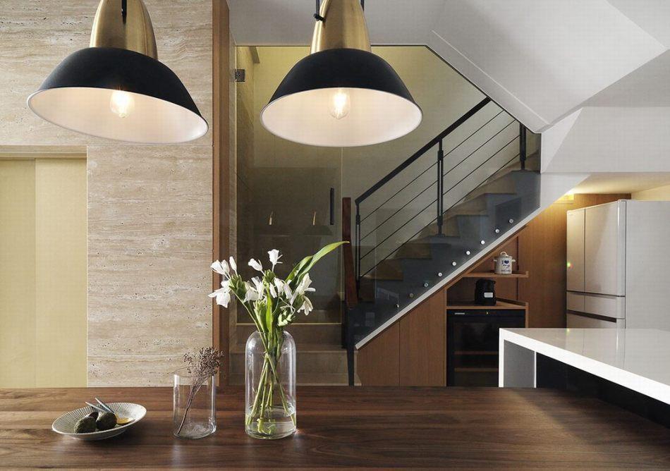 现代风格楼梯间效果图