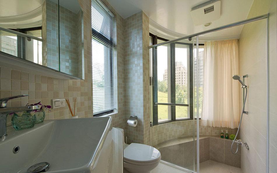 乡村风格卫浴装修效果图