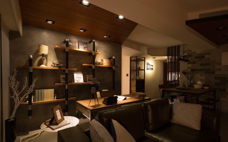 现代风格装置书柜设计图片