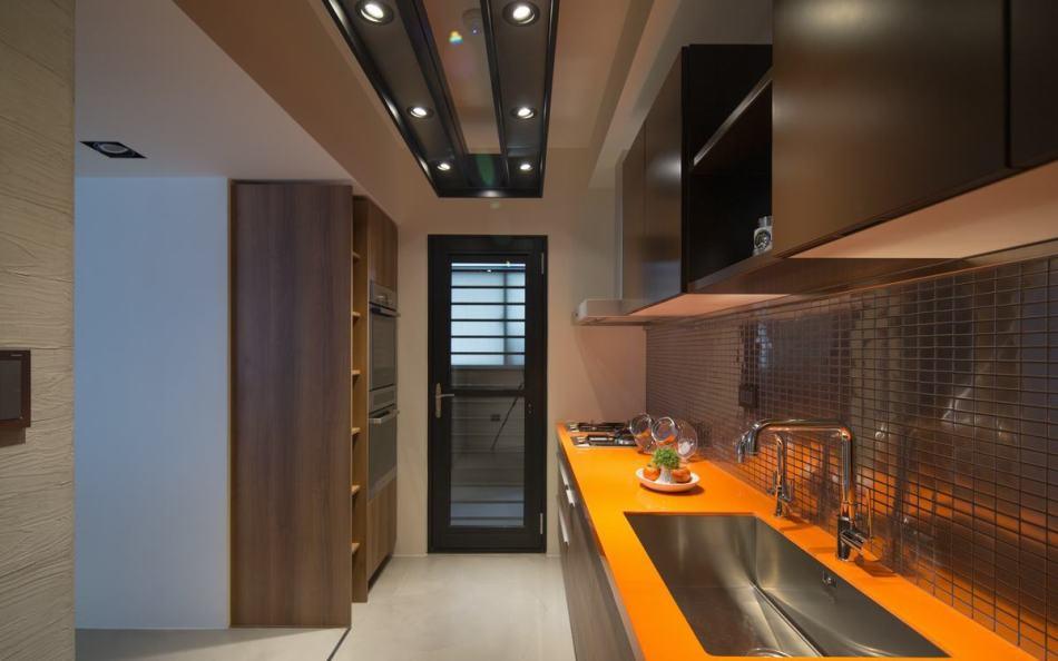现代风格厨房设计图片