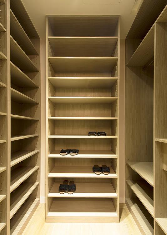 新古典鞋柜装修图片