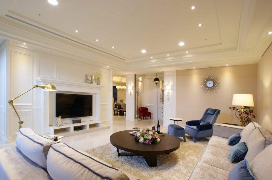 古典风格客厅效果图