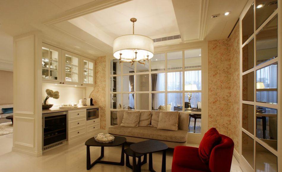 古典风格起居空间效果图
