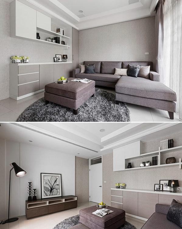 美式风格起居室欣赏图