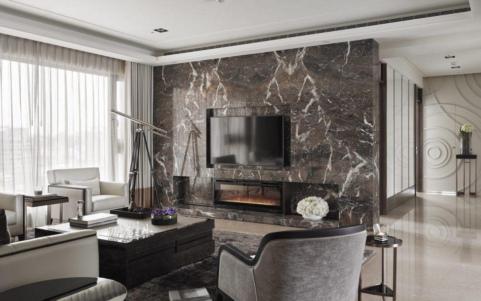 古典风格电视主墙装修效果图