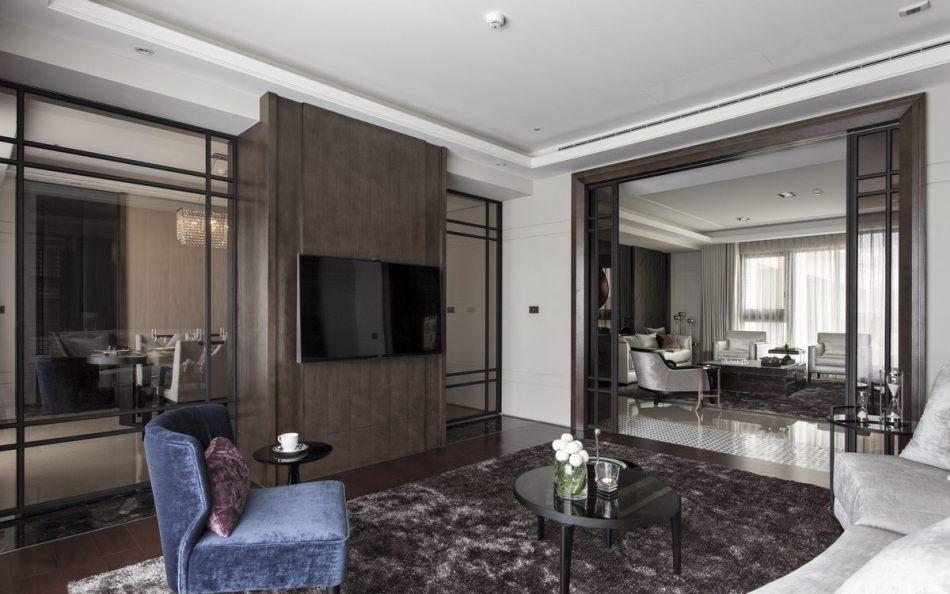 古典风格起居室装修效果图