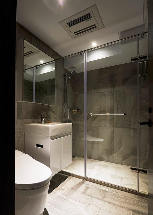奢华风格卫浴空间效果图