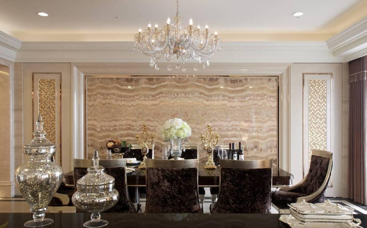 新古典餐厅效果图