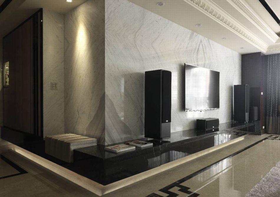 新古典电视主墙欣赏图