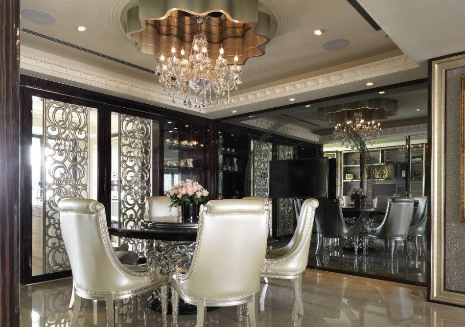新古典餐厅欣赏图