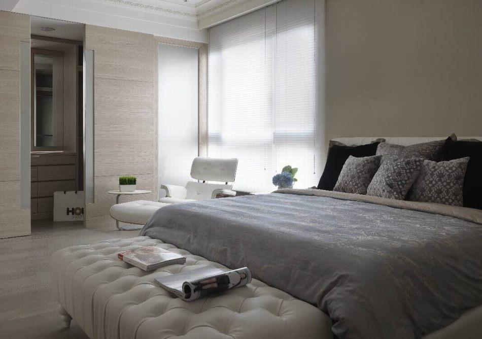 新古典次卧房欣赏图