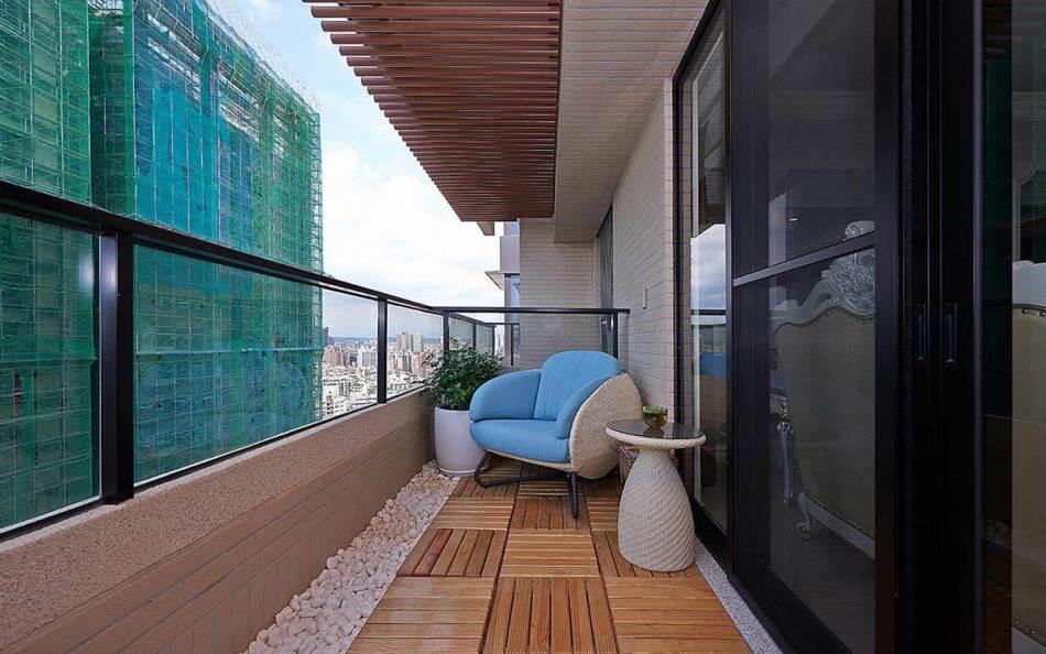 新古典阳台欣赏图