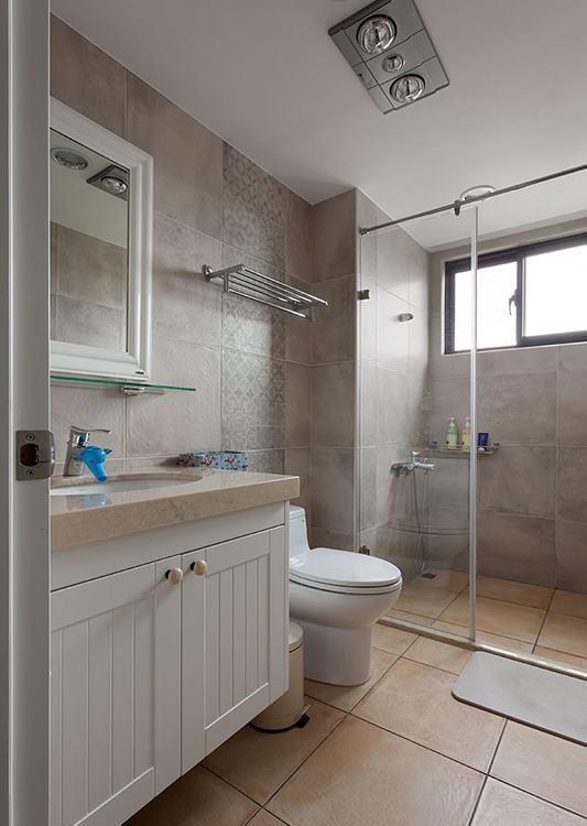 乡村风格客用卫浴图片