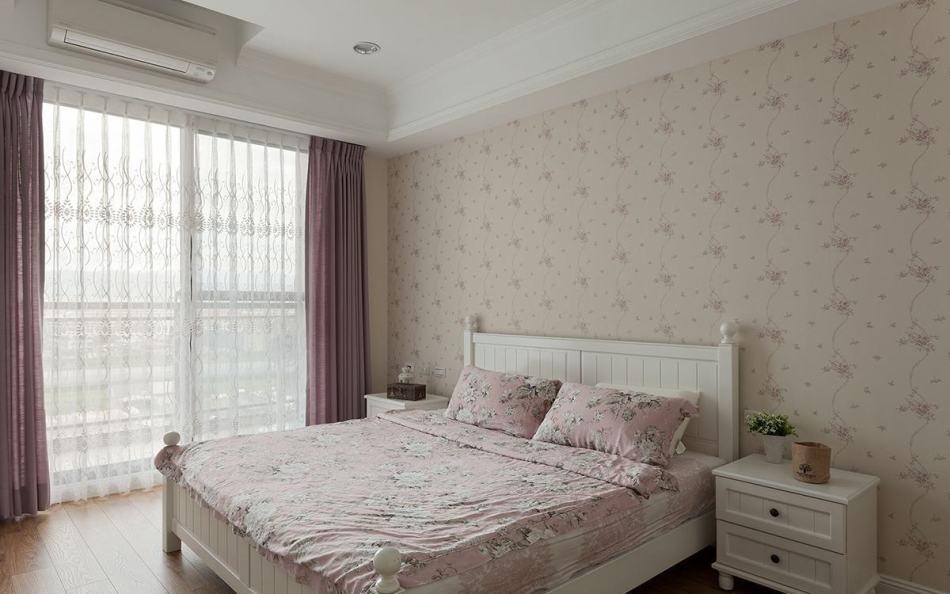 乡村风格主卧室图片