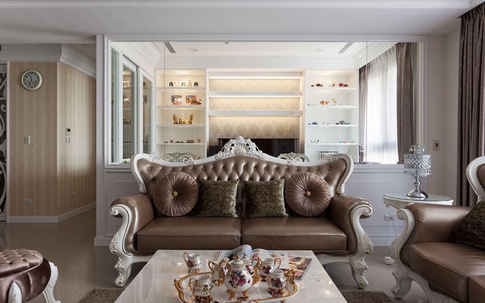 古典奢华穿透隔间图片