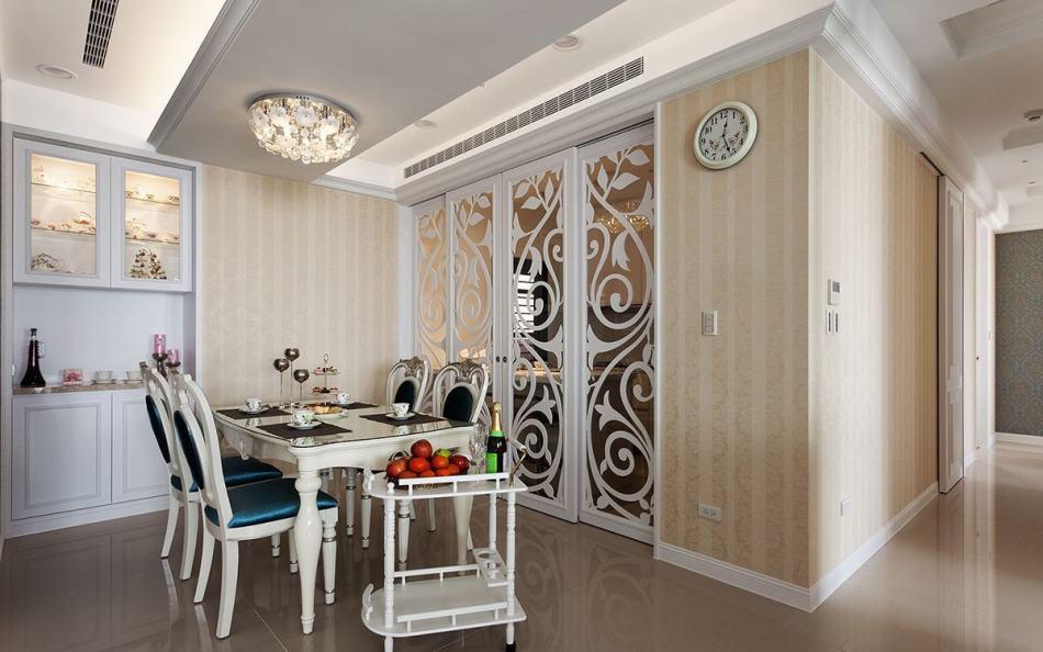 古典奢华餐厨区图片